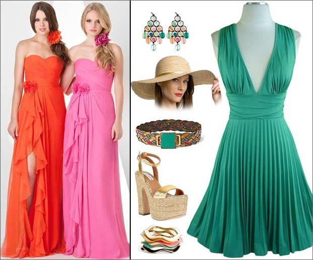 Cocktail Dresses for Beach Wedding