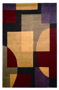 Bold Rugs has for $49 Manufacturer:	Safavieh  Collection: Rodeo Drive 38597;  SKU:	RD843B Fiber:	Wool Color:	Black Accent Colors:	Grey,