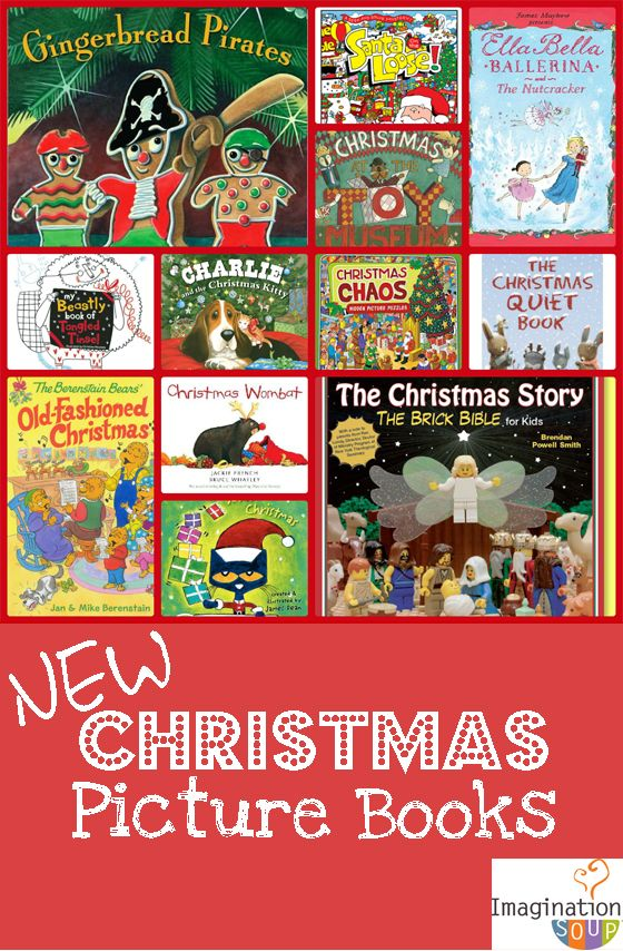 fun Christmas children's books