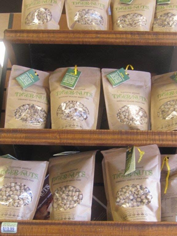 Our TigerNuts are popping up everywhere! Would you like us to come to your local store? They are Gluten Free, but are also Organic, High in Prebiotic Fiber, Non Allergenic, NUT FREE, Non GMO, Paleo Perfect, Kosher, Dairy Free and High in Nutrition. Order online here https://www.tigernutsusa.com/