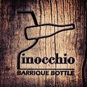 #pinocchio #logo #barrel #bottle #barrique #winerevolution