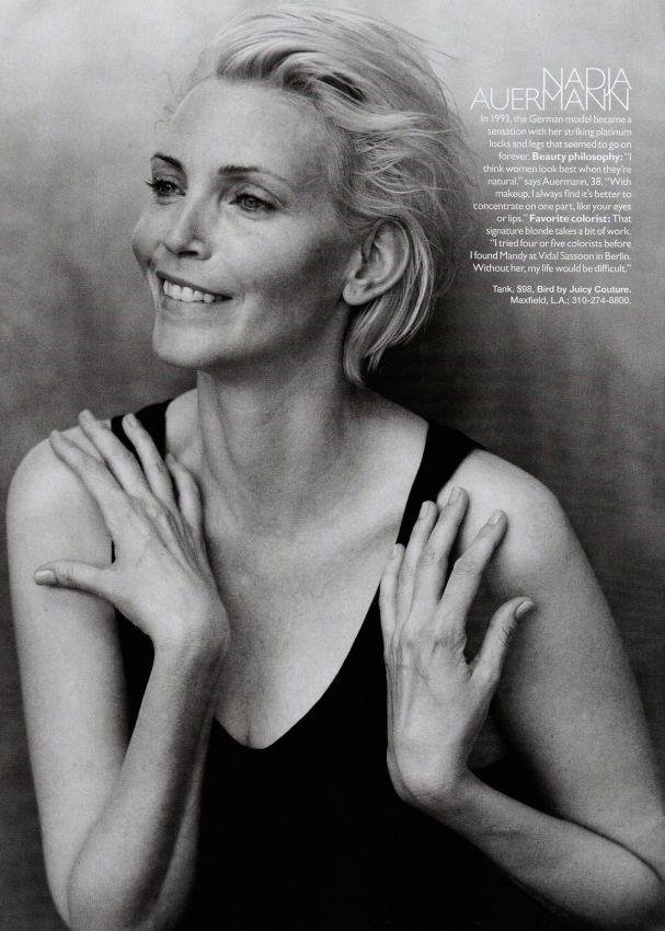Auermann Harper's Bazaar sep 2009