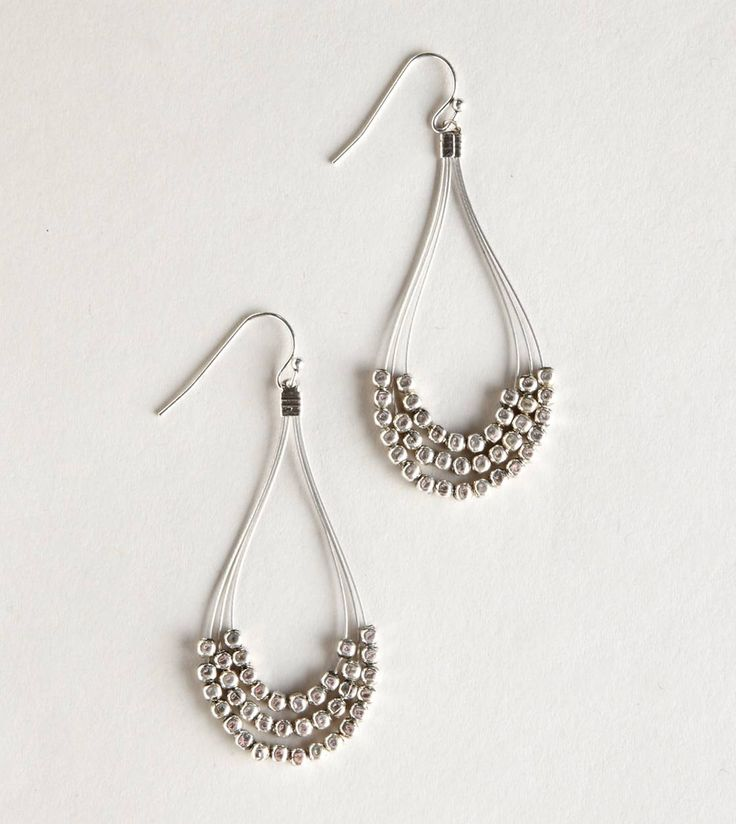 Nice Wire And Bead Earring Patterns Pattern - Simple Wiring Diagram ...
