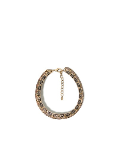 GOLD HONEYCOMB NECKLACE - Accessories - Accessories - Woman - ZARA