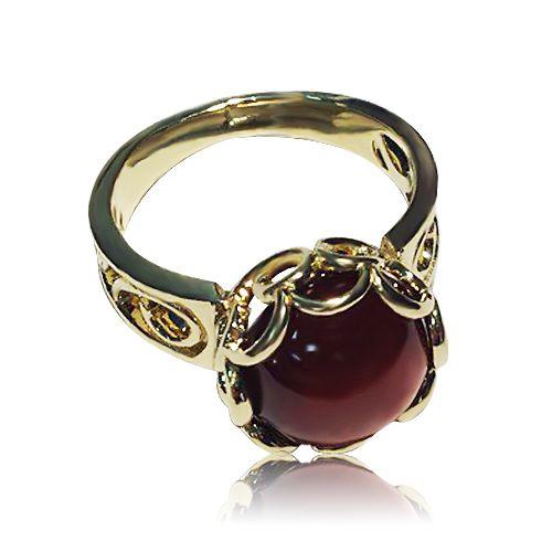 Необычное золотое кольцо в стиле
