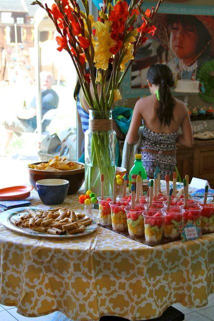 Centro de mesa candy bar