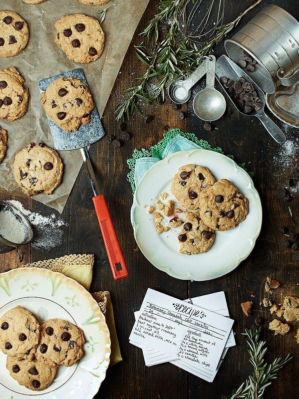 Rosemary Chocolate Chip Cookies – VIDEO | Post Punk Kitchen | Vegan Baking & Vegan Cooking