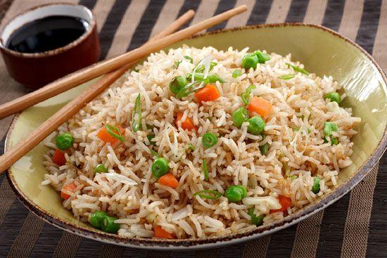 vegetable fried rice, quick & easy recipe, teriyaki sauce, veggie-laden rice, low calorie recipe, easy vegetable fried rice