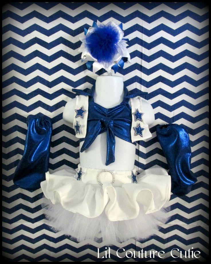 Dallas Cowboys Cheerleaders Glitz Pageant Wear by LilCoutureCutie, $85.00