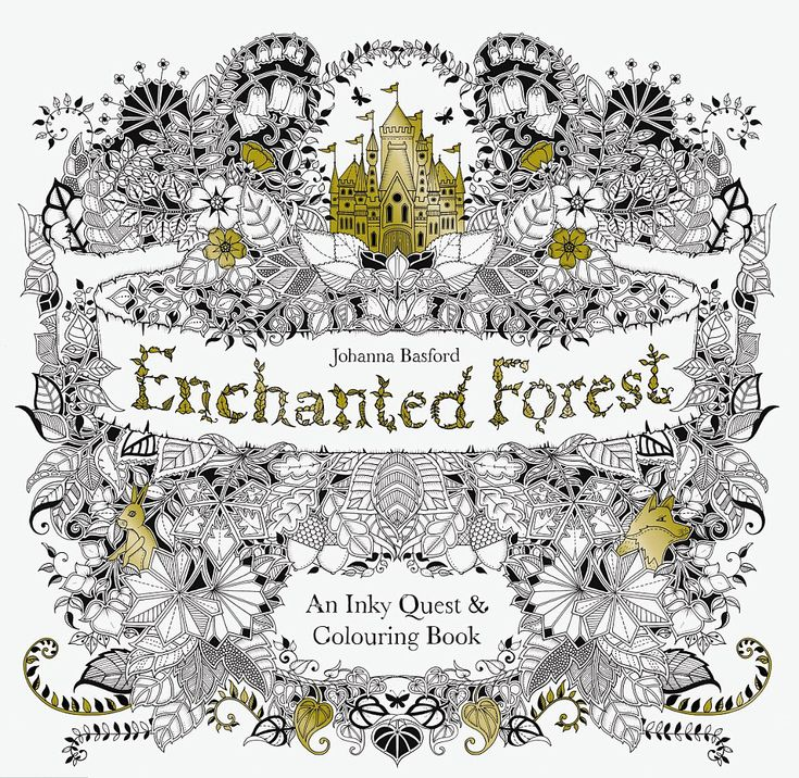 The Queen Of Colouring Books Takes You On An Inky Quest To Drawing Your Own Enchanted Forest Complete With A Magical Castle