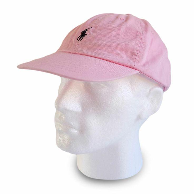 polo ralph baseball cap hat pink colour