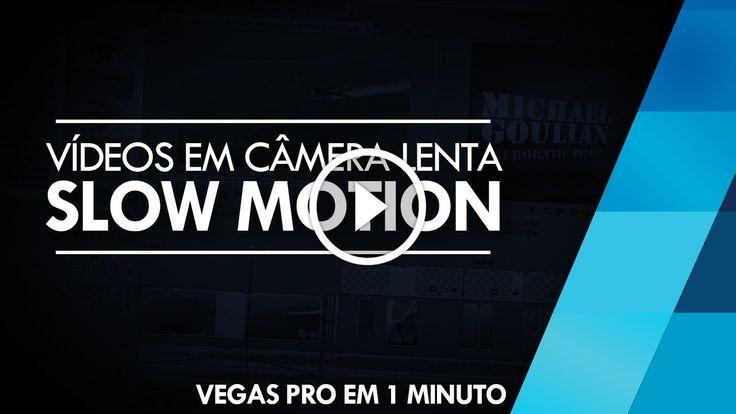 Vegas Pro em 1 Minuto - Slow Motion // Sony Vegas 12 e 13                                           Confira 50 DICAS E TRUQUES DE SONY VEGAS! ➨ http://www.youtube.com/watch?v=FGI8zHIdTrY -~-~~-~~~-~~-~- ▶ Site: http://brainstormtutoriais.com ▶ Facebook: http://fb.com/BrainstormTutoriais ▶ Twitter: http://twitter.com/BrainstormT  ▼ APRENDA MAIS SOBRE... edição de vídeo, Sony Vegas Pro (Software), Sony Vegas Tutorial, tutorial sony vegas, vegas pro, vídeo aula s