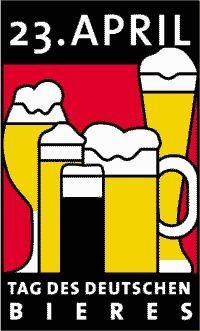 El Día de la cerveza alemana (Tag des Deutschen Bieres)  Una fiesta nueva con base bien antigua  El día de la cerveza alemana (en alemán Tag des Deutschen Bieres) es una fiesta que viene celebrándose en Alemania desde 1994 el mismo día que nuestro Día del Libro el 23 de abril cuyo origen se encuentra en la Ley de pureza (bayerischen Reinheitsgebots) que el conde Guillermo IV de Baviera decretó en 1516 y por la que la cerveza para ser considerada como tal debía fabricarse sólo a partir de 3…