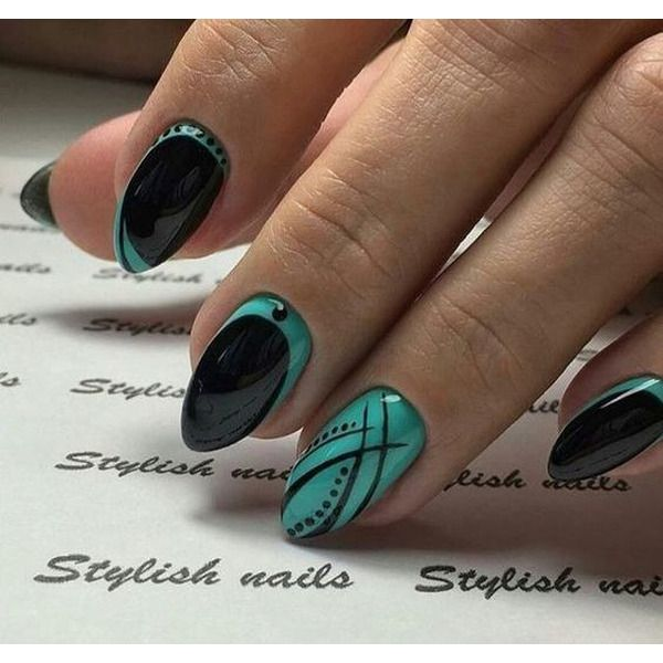 48 Patterns Of Floral Nails With Dark Background 2019 Page 44 Of