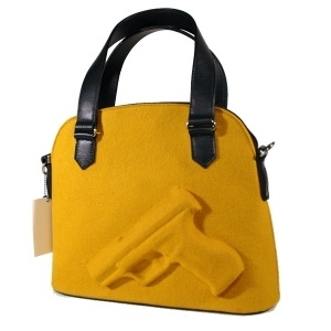 Vlieger & Vandam Guardian Angel Bag : I'm pretty sure if I walked around Oakland with this bag, no one would mess with me.: Bags Aka, Bags Mine, Nice Bags, Handbags, Guardians Angel, Angel Bags, Carrie, Products, Guardian Angels