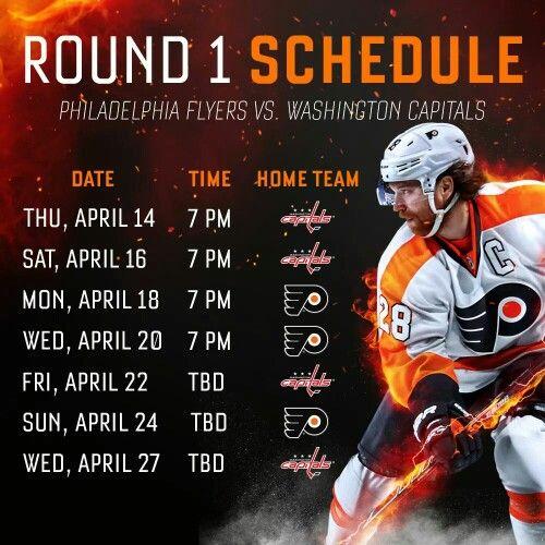 2016 Playoff Schedule