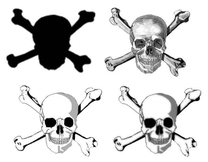 skull and crossbones stencil | Skull Amp Crossbones Appointment Book From Superior Tattoo Equipment ...