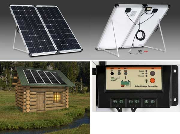 The name brand Solar Panels are Zamp Solar panels with Solar Cells