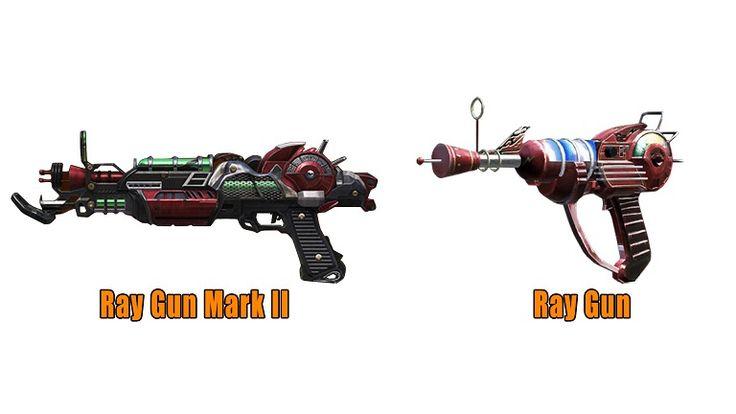 Black Ops 2 Zombies: Ray Guns