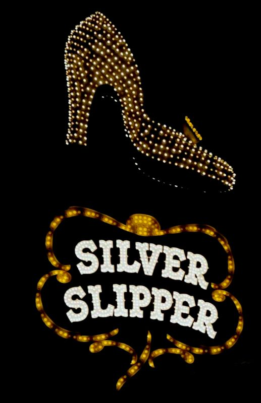 The Silver Slipper sign from the fifties.