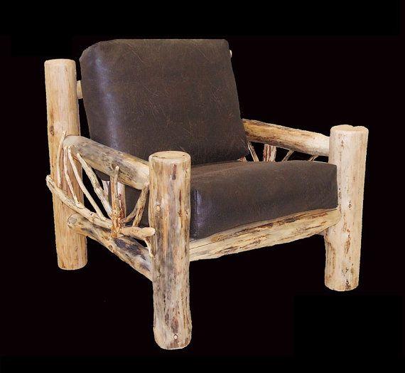 Solide et confortable, la montagne Hewn neige Bend branche fauteuils est un…
