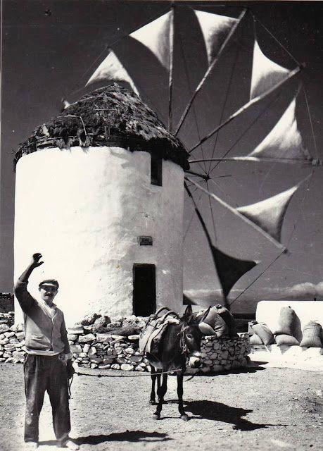 Παλιές φωτογραφίες από τις Κυκλάδες: Μύκονος
