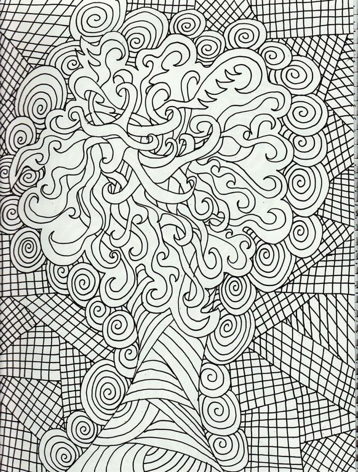 hard design coloring pages - Enjoy Coloring