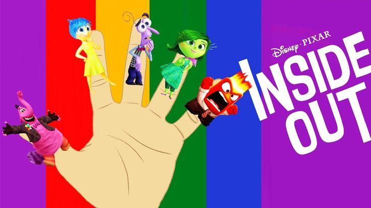 Disney Pixar's Inside Out Finger Family Song!