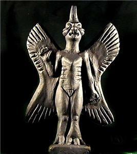 Babylonian Statues of Women | The Sun Bird or Phoenix