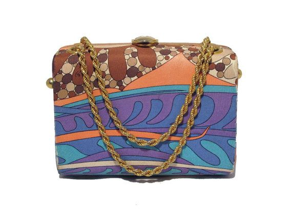 Simply smart and pretty. Vintage Pucci Psychedelic Color Scope by LadybagInternational on Etsy