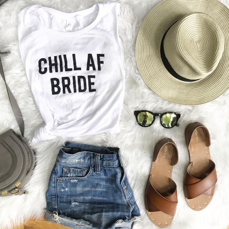 Chill AF Bride Tank Top