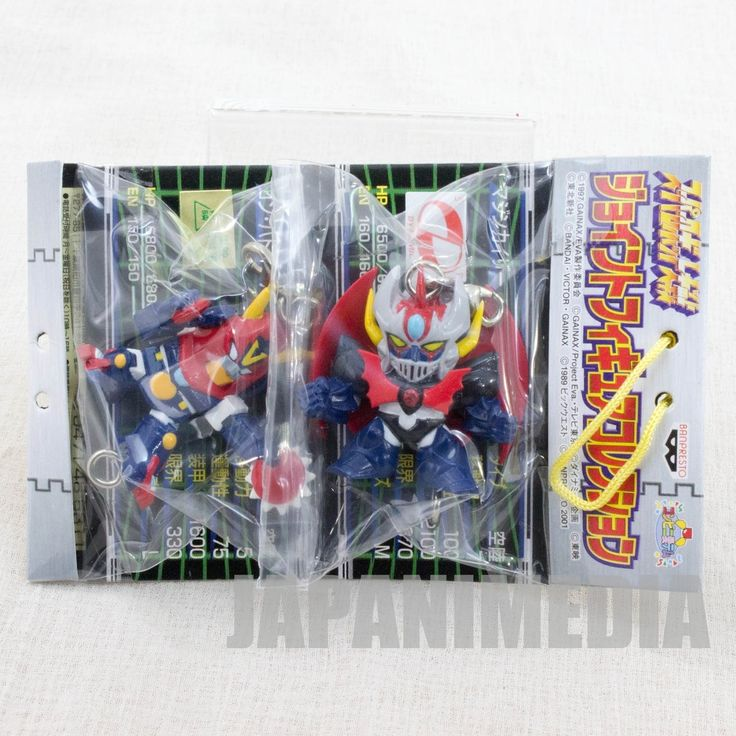 Mazinkaiser & Combattler V Joint Figure Collection Super Robot Wars JAPAN