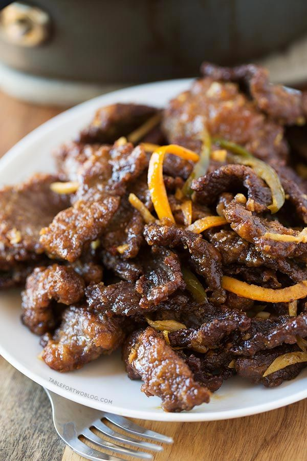 This take-out, fake-out: crispy beef is easy enough to make at home that you won't miss take-out | Table for Two