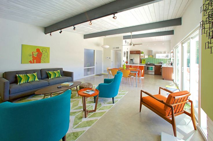 Homeowners of an Alexander-built house rescue their home's floors with a retro touch.