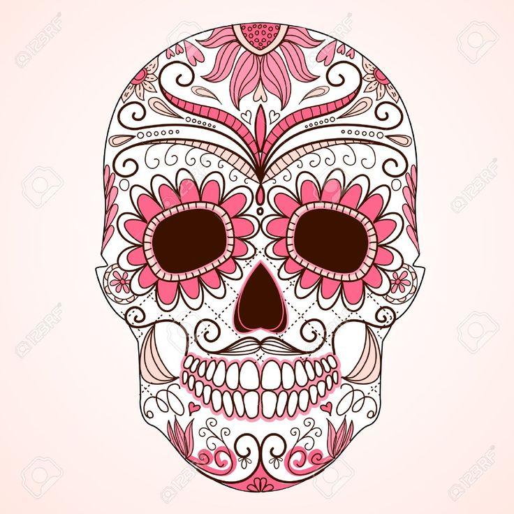 tatouage crane mexicain - Recherche Google