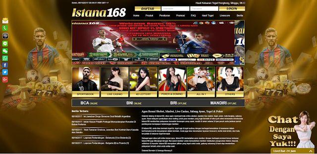 Promo Welcome 10% Istana168: FAQ Istana168 || Bola Online, Casino Online, Togel...