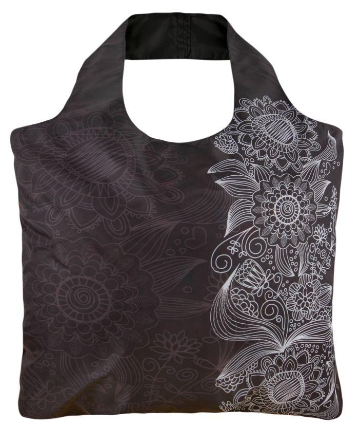 Black and White 3 original reusable bag by ECOZZ #ecozz $8.95