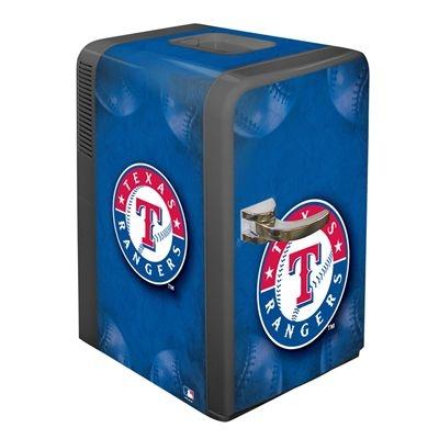 Texas Rangers 15.8 Quarts Mlb Rangers Team Logo Portable Party Fridge