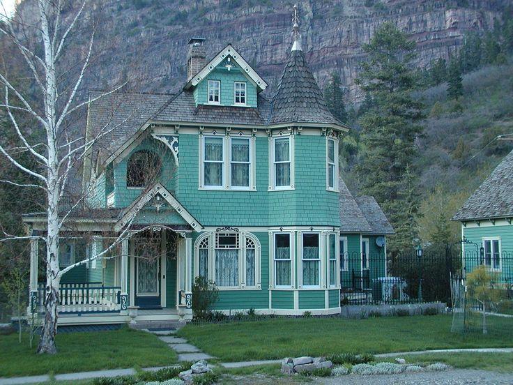 1898 Queen Anne Ouray Colorado Usa Travel Usa Sw