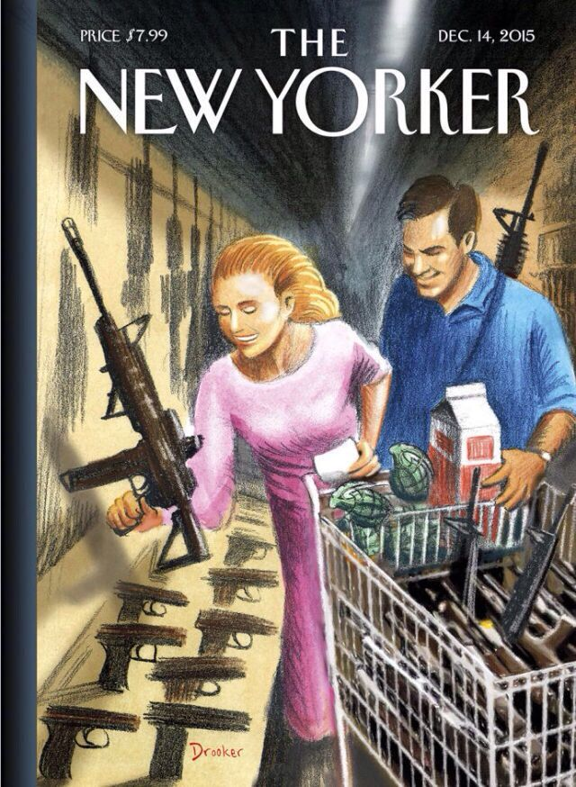 """What would it look like if I took America's obsession with firearms to its logical extreme?"""