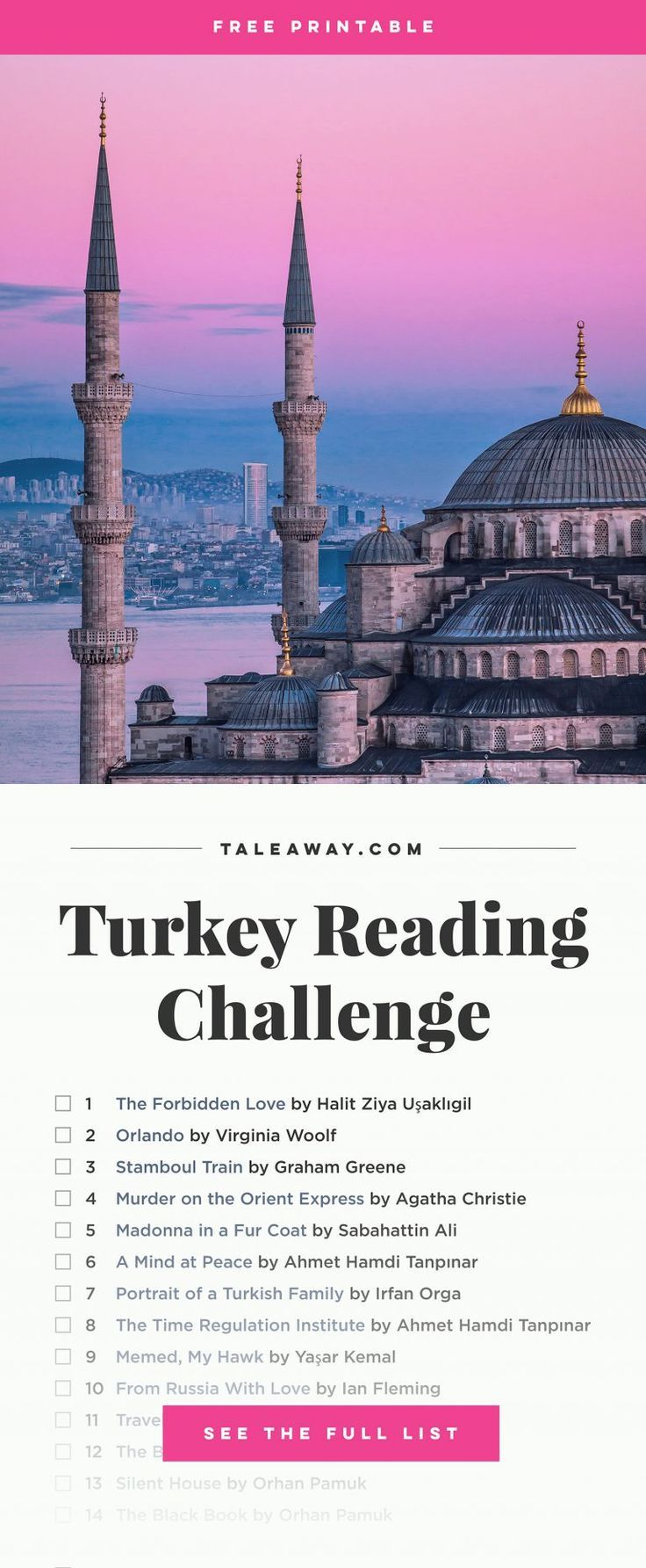 Books Set In Turkey: Turkish Novels – Tale Away – For Readers Who Travel