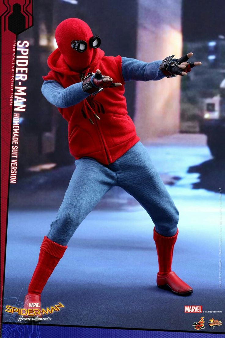 Spider-man homecoming homemade suit version
