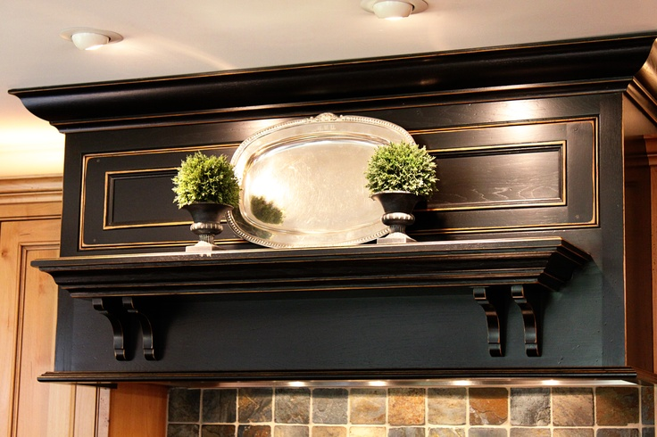 shelf above stove | House Updating Ideas | Pinterest