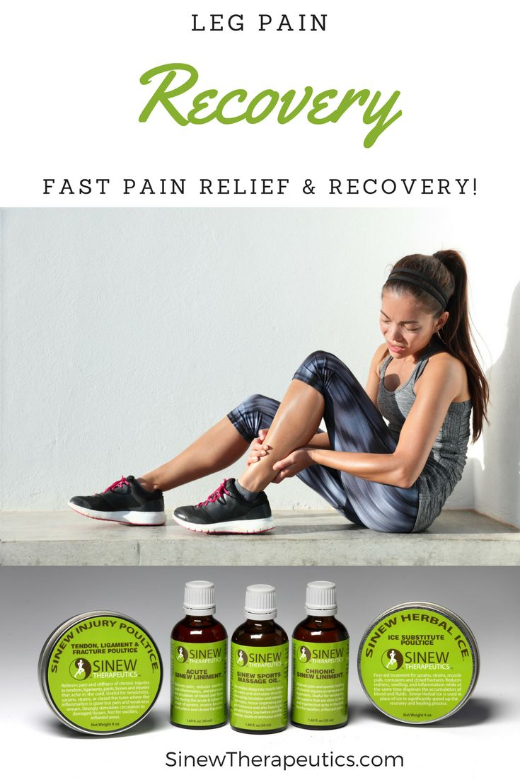 how to get rid of lower leg muscle pain