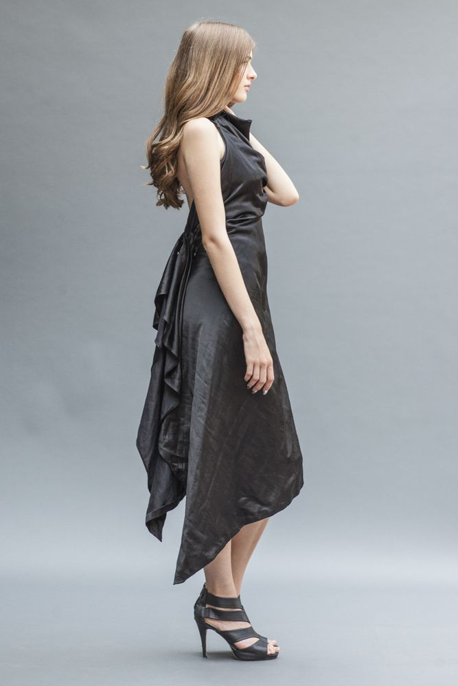 The Seductive Hera | a backless LBD by Elika In Love. Shop the look www.elikainlove.com