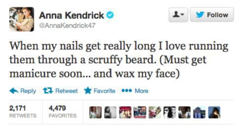 Anna Kendrick is ridiculously funny.