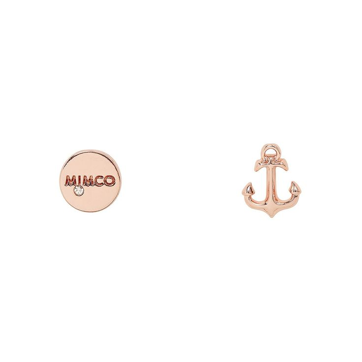 Earrings   Jewellery by Mimco - TAKE TWO ANCHOR STUD