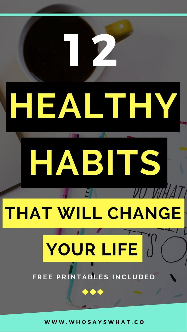 healthy habits | new years resolution | new year new you | habits | habits to start | happy habits | habits for happiness | life tips | life hacks |