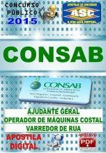 Apostila Concurso Consab Operador de Maquinas Costal 2015