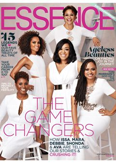 Issa Rae, Mara Brock Akil, Debbie Allen, Shonda Rhimes and Ava DuVernay grace the May 2015 cover of ESSENCE magazine.